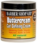 Barber Shop Aid® Buttercream Curl Defining Cream 6 oz.